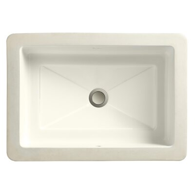 Small Bathroom Sinks on Petite Rectangle Small Undermount Bathroom Sink   12100 00   Wayfair