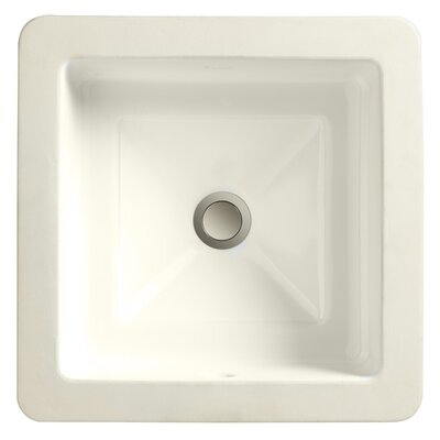 Marquee Square Large Undermount Bathroom Sink - 12040-00