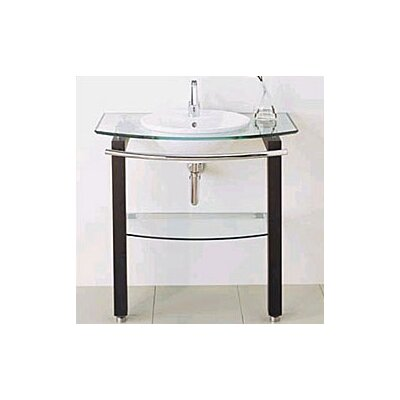 L' Expression Minimalist Table and Bathroom Sink - 89880-00.610
