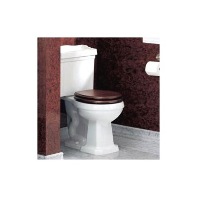 Pomezia Front 1.6 GPF Elongated 2 Piece Toilet