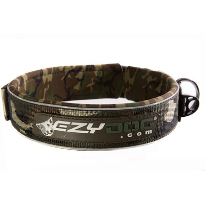 Big Boy Neo Dog Collar in Green Camo