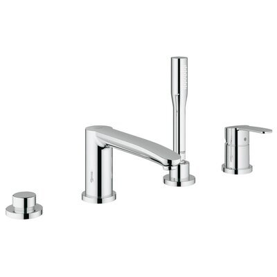 Grohe Eurostyle Cosmopolitan Volume Control Roman Tub Faucet with Hand Shower