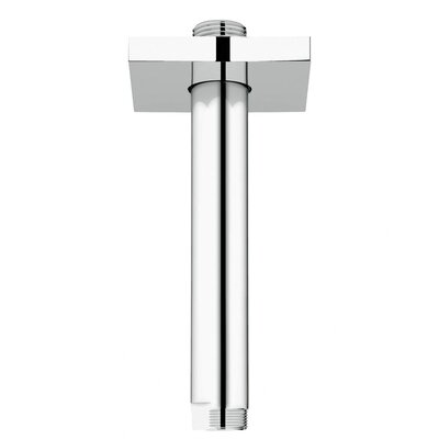 "Grohe 6"" Ceiling Arm Square"