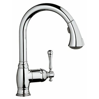 Grohe Bridgeford Single Handle Single Hole Kitchen Faucet