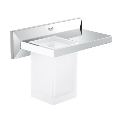 Grohe Allure Brilliant Bathroom Shelf with Tumbler