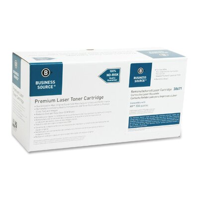 Business Source Print Cartridge, 2500 Page Yield, Black