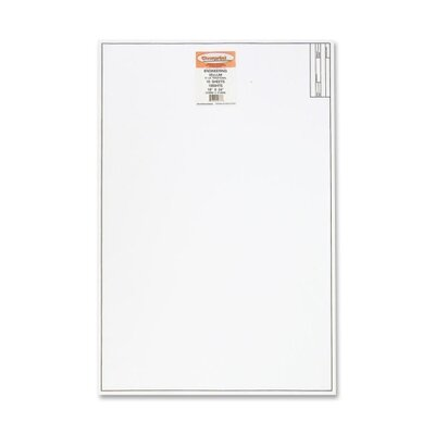 "ClearPrint Vellum Title Block Pad, 16 lb., 18""x24"", 10 Sheets"