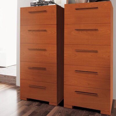 YumanMod Wynd 5 Drawer Tall Chest