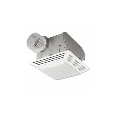 Heavy Duty 50 CFM Exhaust Fan with Light