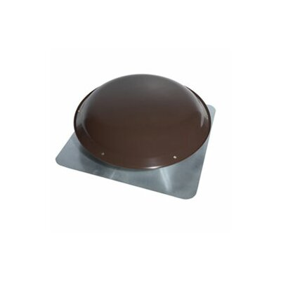 Broan Nutone Roof Mounted Powered Attic Fan in Brown