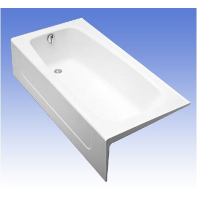 Toto ADA Compliant Cast Iron Bathtub in Cotton Enameled