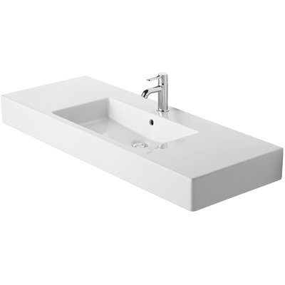 Duravit Vero Furniture 51&quot; Bathroom Sink in White Alpin