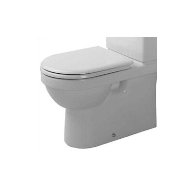 "Duravit Happy D. 8.5"" Toilet Bowl Only"