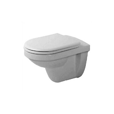 Duravit Happy D. Wall Mounted Round Toilet