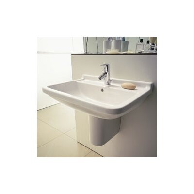 Duravit Starck 3 Top Platform Washbasin & Siphon Cover Set