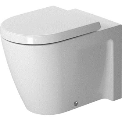 Duravit Starck 2 Floor Standing Back to Wall Round 1 Piece Toilet