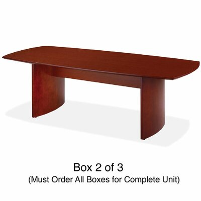 Rudnick Rectangular Conference Table, Box 2/3, Cherry