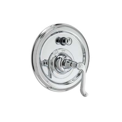 Jado Classic Pressure Balance Diverter Faucet Shower Faucet Trim with Curved Lever Handle