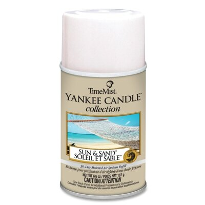Waterbury Companies, Inc Timemist Yankee Candle Air Freshener Refill, 6.6 Oz Aerosol Can