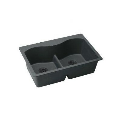 elkay harmony 33 quot x 22 quot bowl top mount kitchen sink