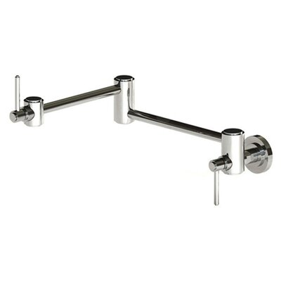 Ella Double Handle Wall Mount Pot Filler Faucet
