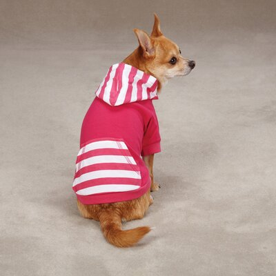 East Side Collection Brite Stripe Dog Pullover Sweatshirt