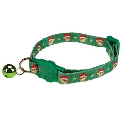 East Side Collection Holiday Monkey Business Cat Collar