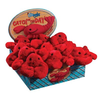 Grriggles Catch Of The Day Lobster Dog Toy (Pack of 12)