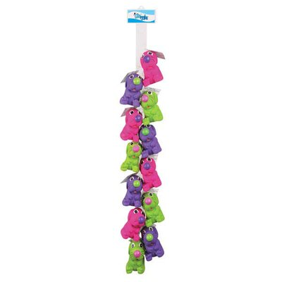 Grriggles Dinky Dog Toy (12 Pieces)