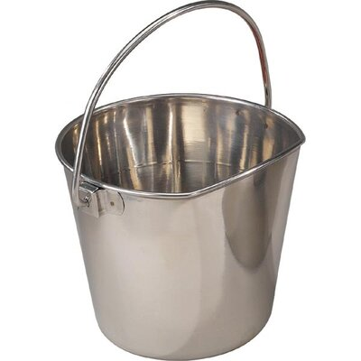 ProSelect Stainless Steel Flat Sided Pet Pail