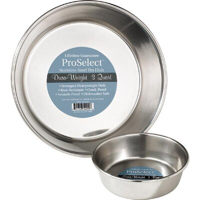 Stainless Steel Dura - Weight Pet Bowl