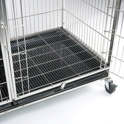 ProSelect Modular Cage Floor Grate in Stainless Steel