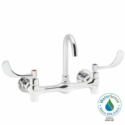 Speakman Commander Double Handle Wall Mount Thru/back Faucet