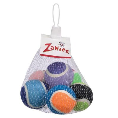 Zanies Tennis Minis Dog Toy (Pack of 6)