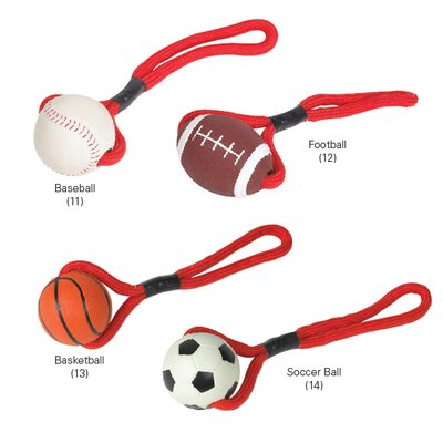 Sports Tugs Dog Toy