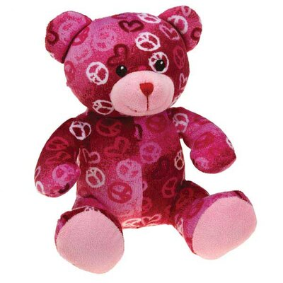 Zanies Kiss N' Cuddle Bear Dog Toy