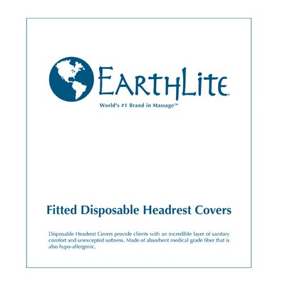 EarthLite Fitted Disposable Headrest Covers (50)