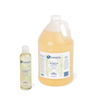 EarthLite Natural Nut - 1 Gallon Free Massage Oil