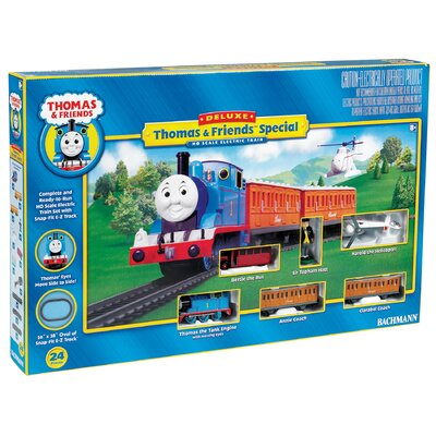 Bachmann Trains HO Scale Thomas Deluxe Train Set