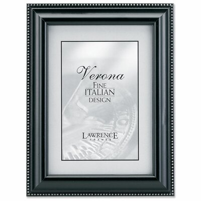 Lawrence Frames Wood Picture Frame with Silver Bead