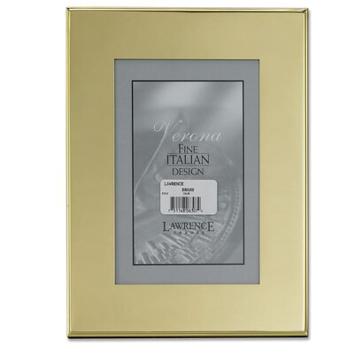Lawrence Frames Hanging / Table Top Metal Picture Frame
