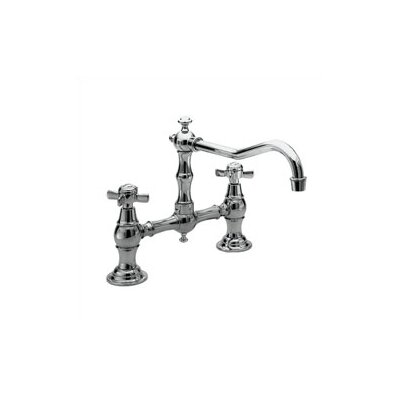940 Series Two Handle Widespread Bridge Faucet with Swivel Spout