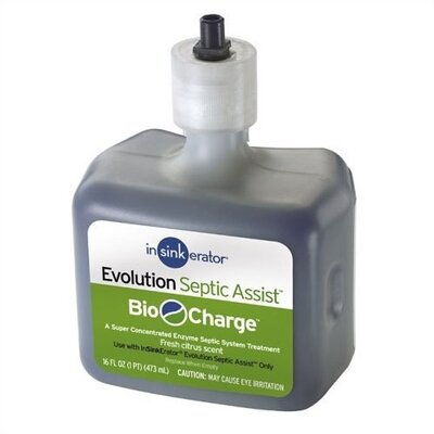 InSinkErator Bio-Charge Replacement Cartridge for Septic Disposer