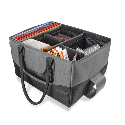 File Tote Bag, 600-Denier Nylon