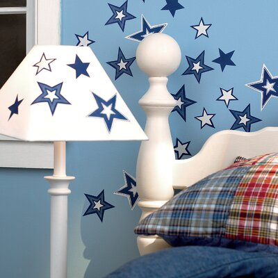 Wallies Glowing Stars Wallpaper Cutouts