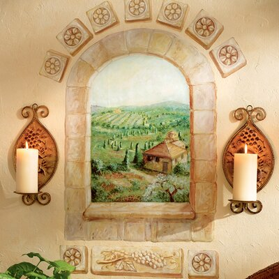 Wallies Tuscan Window Wallpaper Mural