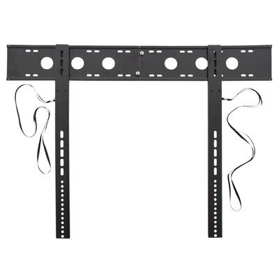 Large Ultra Low Profile Black LED TV Mount for 42