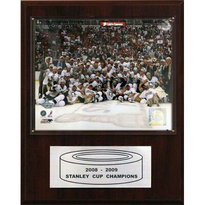 C & I Collectibles NHL Penguins 2008-09 Stanley Cup Celebration Champions Plaque