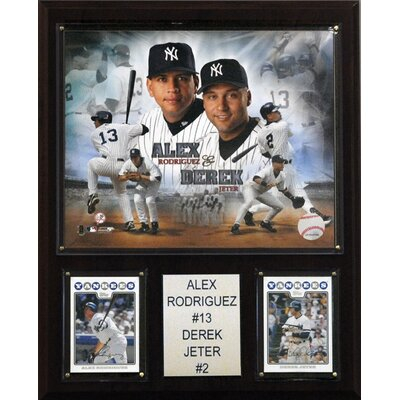 C & I Collectibles MLB New York Yankees Combo Plaques