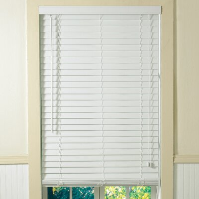 "Radiance 2"" Plantation Faux Wood Blinds in White"